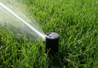 photo of a sprinkler